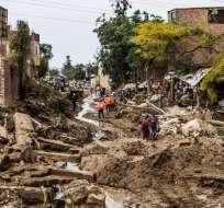Se registran 101.104 damnificados y más de 141 mil viviendas dañadas. Fotos: AFP