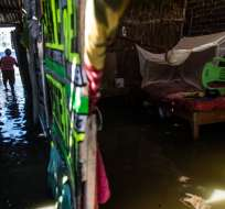 Las muertes a causa de inundaciones y avalanchas suman 84 desde enero. Foto: AFP