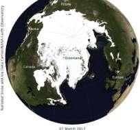 Científicos concuerdan que el hielo ártico es vital para el sistema climático mundial. Foto: AP