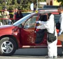 La periodista de 54 años se encontraba en su auto preparándose para llevar a uno de sus hijos a la escuela cuando le dispararon 8 veces.