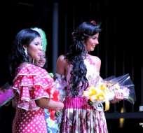Génesis Carabajo, representante del centro de Guayaquil se convirtió en la Reina del Carnaval 2017.
