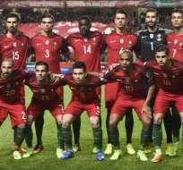 Portugal venció, pero sigue en segundo lugar de su grupo por detrás de Suiza. Foto: AFP