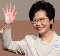 HONG KONG, China.- La nueva jefa ejecutivo tendrá que enfrentarse a un Hong Kong dividido. Foto: AFP.