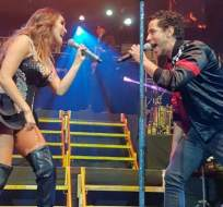 Dulce María y Christian Chávez cantaron juntos varios temas que los lanzaron a la fama. Foto: T MetropolitanMX.