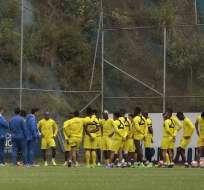 Gustavo Quinteros trabajará con la selección a puertas cerradas. El martes recibe a Colombia por eliminatorias.