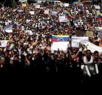 Los exjefes de Estado piden que haya elecciones generales en Venezuela. Foto: Archivo / AP