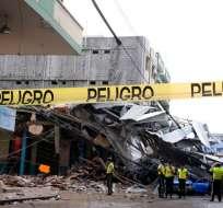 Parroquia Tarqui, cantón Manta.- Los terremotos también sacudieron otros muchos países, como Ecuador el pasado abril. Foto: Archivo / API