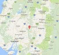El temblor se registró aproximadamente a las 06h00 de este 29 de marzo.