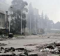 Alrededor de un cuarto de la población siria ha huido desde marzo de 2011. Foto: AP