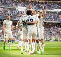 Real Madrid se mantiene al frente de la clasificación en la Liga española.