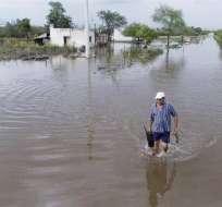 TUCUMÁN, Argentina.- Tucumán es la zona más afectada por las intensas tormentas. Foto: Twitter Involúcrate ONG.