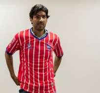 Sebastián Abreu jugará en Central Español, equipo de la serie B de Uruguay. Foto: AFP