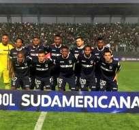 El 'Trencito azul' venció 3-1 a Petrolero de Bolivia en partido de ida de la primera fase. Foto: Tomada de la cuenta Twitter @UCatolicaEC