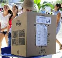 El CNE anunció el pasado martes los resultados oficiales de la segunda vuelta electoral. Foto: API