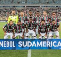 Junior Sornoza y Jefferson Orejuela fueron titulares con Fluminense en la Sudamericana.