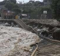 Presidente admitió que el crecimiento de la economía se verá afectado por las inundaciones y avalanchas. Foto: Archivo / AP