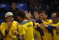 Brasil jugará el repechaje en septiembre próximo para tratar de ingresar al grupo mundial. Foto: AFP