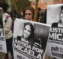 La joven fue violada y asesinada presuntamente por un violador serial bajo libertad condicional. Foto: AFP