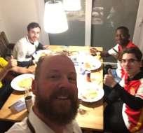 Hinchas del Mónaco en Dortmund pasaron la noche en casa de aficionados del equipo alemán.