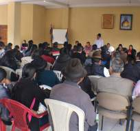 La Conaie se reunió el 11 de abril y aprobó su resolución sobre los resultados electorales. Foto: Conaie