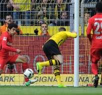 El defensor ecuatoriano Andersson Ordóñez (29) fue titular con el Eintracht Frankfurt.