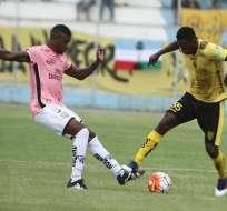 Fuerza Amarilla cayó de local ante Independiente del Valle en el Nueve de Mayo de Machala.