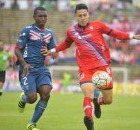 El Nacional y River Ecuador empataron a dos goles en cotejo válido por la fecha 10 del torneo local.