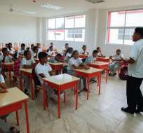 Los docentes se integrarán a las actividades desde este martes 18 de abril. Foto: Ministerio de Educación