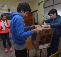 La alianza CREO-SUMA buscaba el recuento del 100% de votos de las presidenciales del 2 de abril. Foto: API