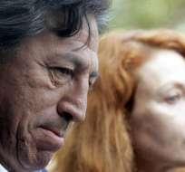El expresidente peruano Alejandro Toledo y su esposa Elianne Karp. Foto: Archivo / Internet