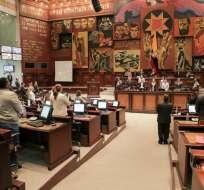 Las intervenciones se centraron en los resultados electorales y acusaciones a candidatos. Foto: Asamblea Nacional