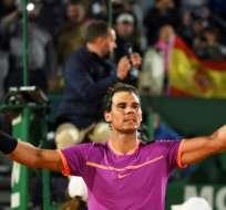 Rafael Nadal se enfrentará en semifinales al belga David Goffin. Foto: AFP