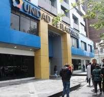 Alecksey M. y Marcelo E. fueron detenidos el viernes en Quito, informó Fiscalía. Foto referencial / Archivo / Fiscalía