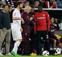 El ecuatoriano Andersson Ordóñez no fue considerado para el cotejo del Eintracht Frankfurt por la Copa Alemana.