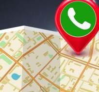 Tu ubicación ya no será más un secreto en WhatsApp.