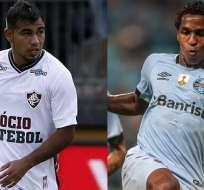 Junior Sornoza y Miller Bolaños realizan buenas campañas con sus respectivos equipos.