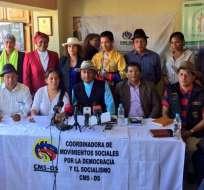 ECUADOR.- La agrupación de movimientos sociales cree necesario un cambio en el modelo político del puerto principal. Foto: Twitter