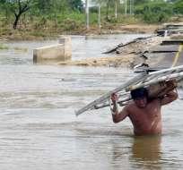 Los afectados ascienden a más de 1,1 millones de ciudadanos, según autoridades. Foto: Archivo / AFP