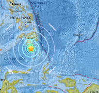 El foco sísmico estuvo localizado a 41 km de profundidad. Foto: Twitter
