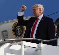 El presidente reiteró su determinación de apoyar la influencia china sobre Corea del Norte. Foto: AP