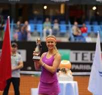 La ucraniana Elina Svitolina ganó su séptimo título en su carrera profesional.