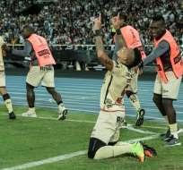 El segundo gol de Barcelona ante Botafogo fue convertido por Jonatan Álvez, en el minuto 23 del primer tiempo. Foto: AFP