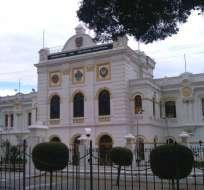 QUITO, Ecuador.- La cita se desarrolla con carácter reservado en la sala de reuniones del despacho del Ministerio de Defensa. Foto: Archivo