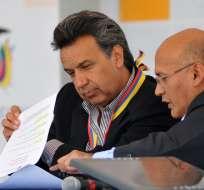 Moreno se trasladará el lunes 8 a Bogotá, donde se reunirá con Santos en la casa de Nariño. Foto: Archivo/Flickr Presidencia.