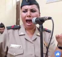 Janet Huamán Fernández es popular en las redes sociales por su sentida interpretación. Foto: Tomada de Trome.pe.