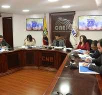 QUITO, Ecuador.- Según el organismo, el partido no justificó su informe fiscal correspondiente en 2015.Foto: Twitter Paul Salazar Vargas.