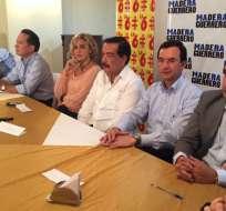 Luis Fernando Torres agradeció la nominación de sus colegas del PSC-Madera de Guerrero para presidir el CAL.