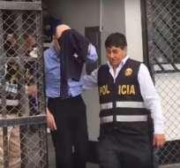 Según abogado de detenido, lo que corresponde es un proceso de extradición. Foto: Captura