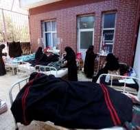 Yemen es una de las mayores catástrofes humanitarias del planeta junto a Siria. Foto: AFP