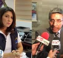 QUITO, Ecuador.- La vicepresidenta del CNE ratifica que el pedido del Partido Sociedad Patriótica (PSP) no cumple requisitos. Collage: Ecuavisa